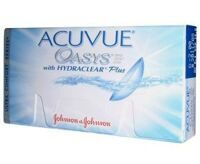 Контактные линзы Johnson&Johnson на 2 недели Acuvue Oasys (12 шт.)