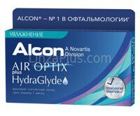 Контактные линзы Air Optix plus HydraGlyde (6 шт)